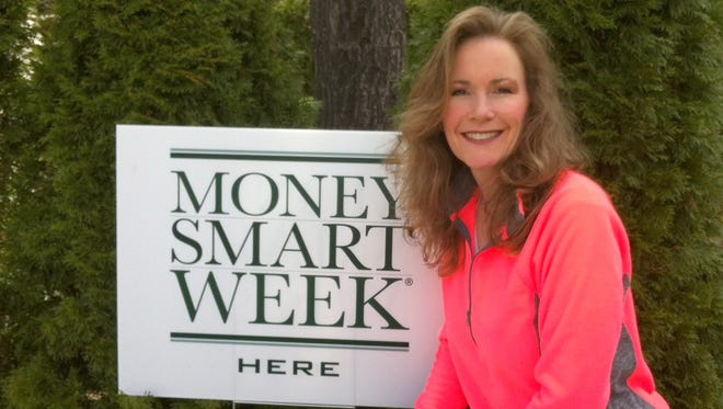 Kelly Masters, chair of Michigan Money Smart Week, added a 5K Run for the Money event sponsored by PNC Bank this year.