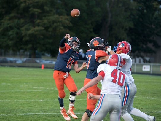 Harrison Ivy had his best performance of the season in his team's 35-20 win over Ontario.