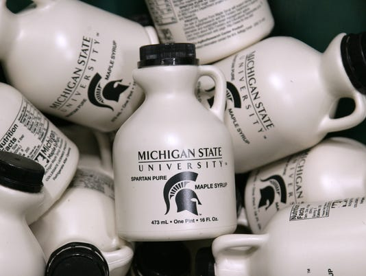 MSU Syrup at the Surplus Store