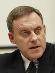 National Security Agency director Adm. Mike Rogers