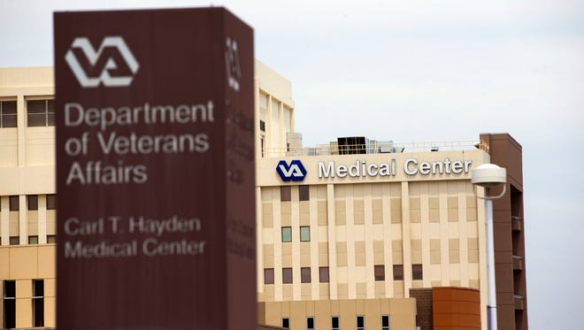 The Carl T. Hayden Veterans Affairs Medical Center in Phoenix where the veterans health care scandal first erupted.