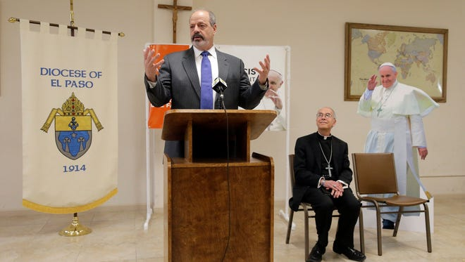 Mayor Oscar Leeser along with Catholic Bishop Mark Seitz at a news conference on Monday said that El Paso is prepared for the influx of people that will come for Pope Francis' visit to Juarez, Mexico.