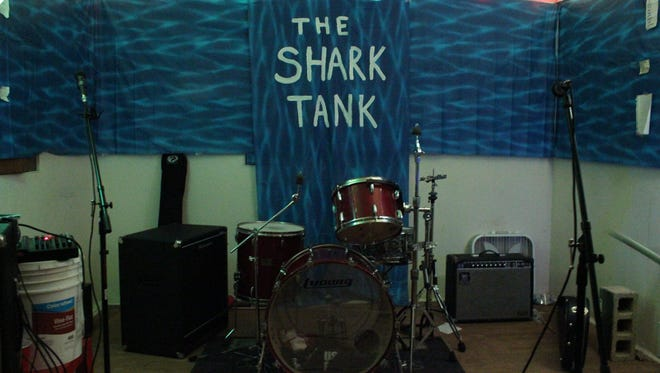 """The Shark Tank, located on Sharkey Street, is a """"girl-powered DIY house venue"""" that hosts many local bands and is becoming a Tallahassee staple."""
