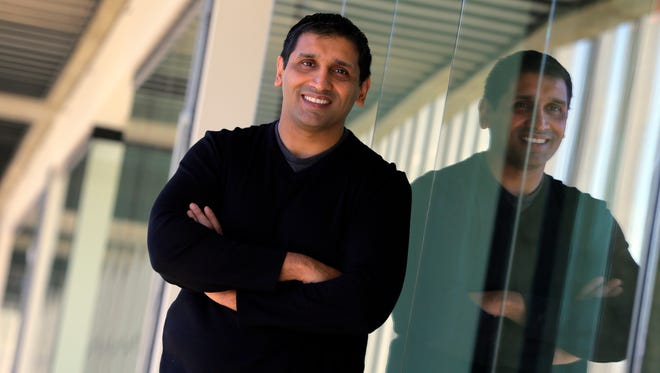 Jay Bhatti of Marlboro, founder of BrandProject, talks about opening a new location inside Bell Works in Holmdel.