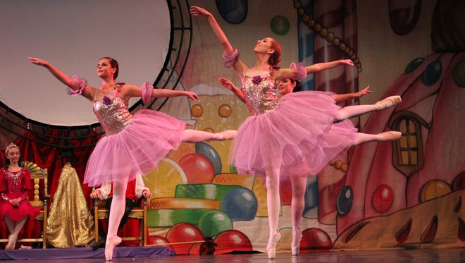 """A scene from the Las Cruces Chamber Ballet's """"The Nutcracker."""""""