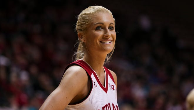 Tyra Buss was named first-team All-Big Ten this week.