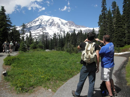 Long a favorite on the backpacker circuit, Mount Rainier