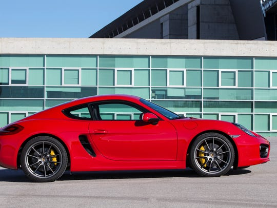 Auto Review 2014 Porsche Cayman S Dishes Out Mid Engine