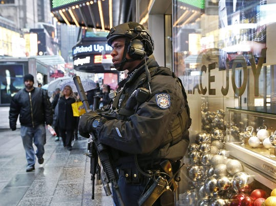 New Year NYC Security