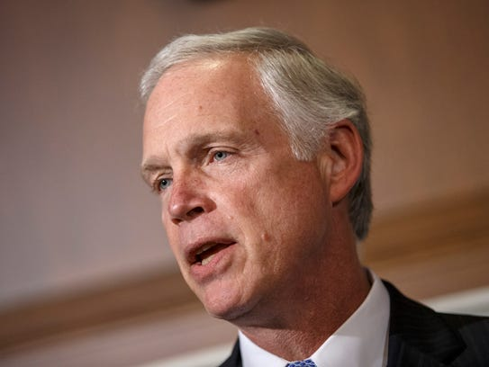 Sen. Ron Johnson, R-Wis., is the new chairman of the