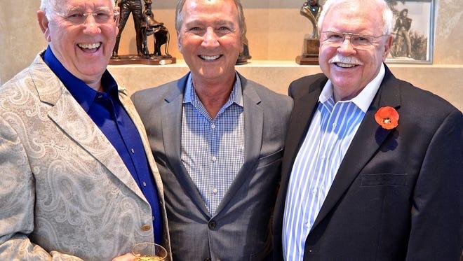 David Hood, Gary D. Hall and George Sellers.