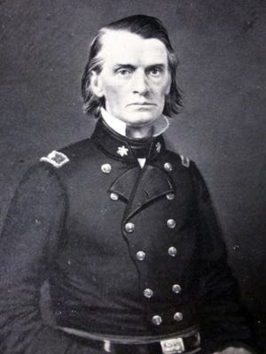 Gov. Henry A. Wise of Accomac served as a brigadier general in the Confederacy. In 1859, he signed the death warrant for the hanging of abolitionist John Brown.