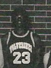 John Flowers (No. 23) in high school in 1990.