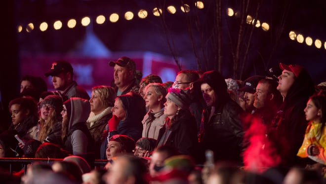 New Year's Eve in Nashville is one big party with a massive outdoor concert and other smaller events around the city.