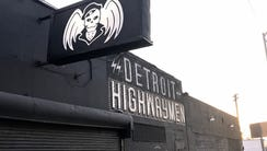 The clubhouse of the Detroit Highwaymen on Michigan