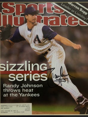 Photo of Randy Johnson Sports Illustrated