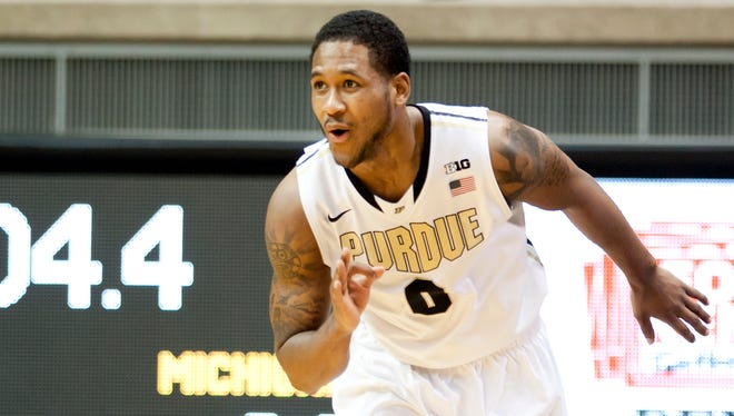 Former Purdue guard Terone Johnson gets another shot at the heated rivals from Bloomington.