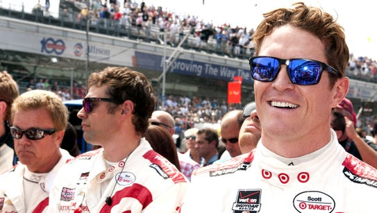 Scott Dixon won the Indianapolis 500 pole in May and