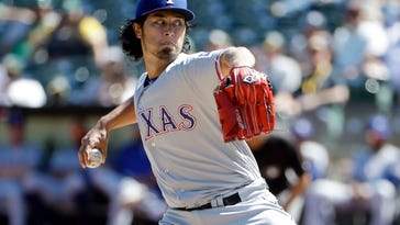 Andrus' homers leads AL West champ Rangers over A's 5-0