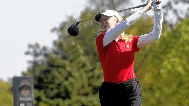 Senior Kate Kramer and the CSG golf team are looking to maintain focus as they as they seek a second consecutive Division II state tournament berth.