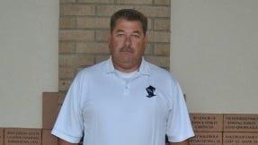 Robbinsville football coach Dee Walsh