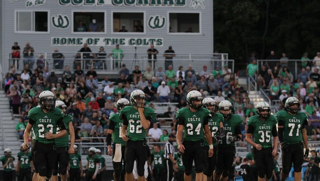 The Clear Fork Colts are the top team in Richland County after a 40-12 win at Bellevue on Friday night.