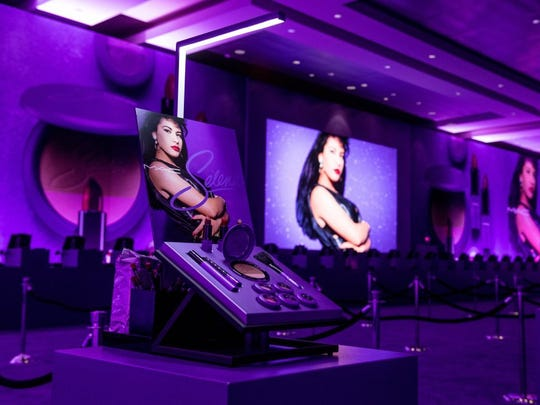 CORPUS CHRISTI, TX - SEPTEMBER 30: The ballroom at the American Bank Center during the MAC Selena World Premiere on September 30, 2016 in Corpus Christi, Texas.