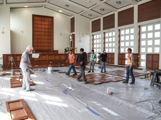 The New Guam Legislature building nears completion