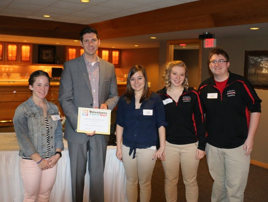 The Lincoln High School Student Council was recognized
