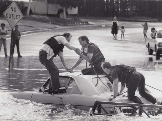 Arizona Then and Now: Monsoon storms