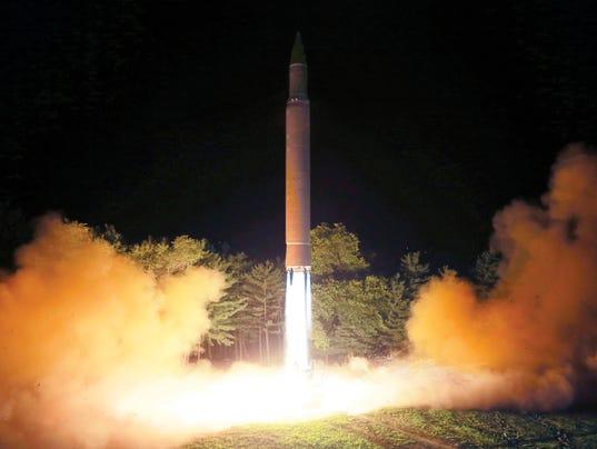 AP NORTH KOREA MISSILE I FILE PRK