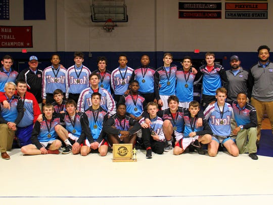 2018 Union County State Dual Champions.