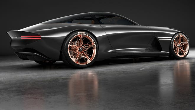 Hyundai's Genesis division created a stunning concept car that plays to emotions, the Essentia