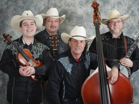 The Finley River Boys open the Saturday night show at Luttrell's Auction. Cover charge of $10 is for both performances of the night.