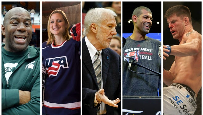 It's not hard to find a link between sports and politics.