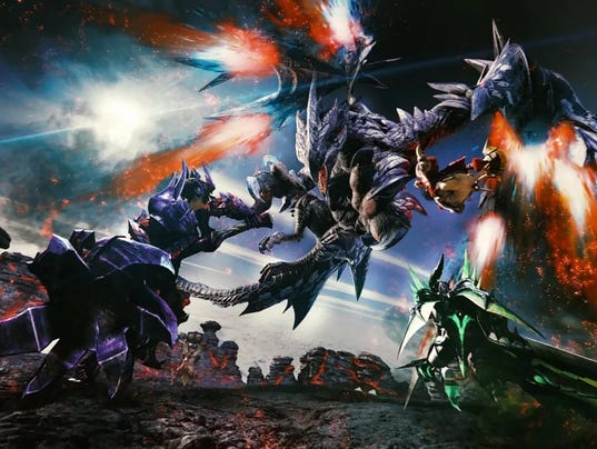 Monster Hunter Generations Ultimate, Nintendo Switch.