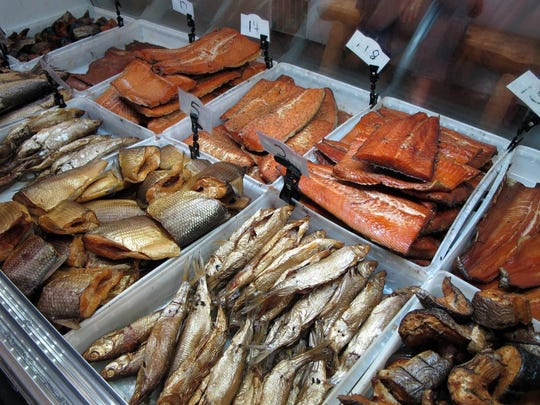 Bearcat's Fish House specializes in smoked fish, by