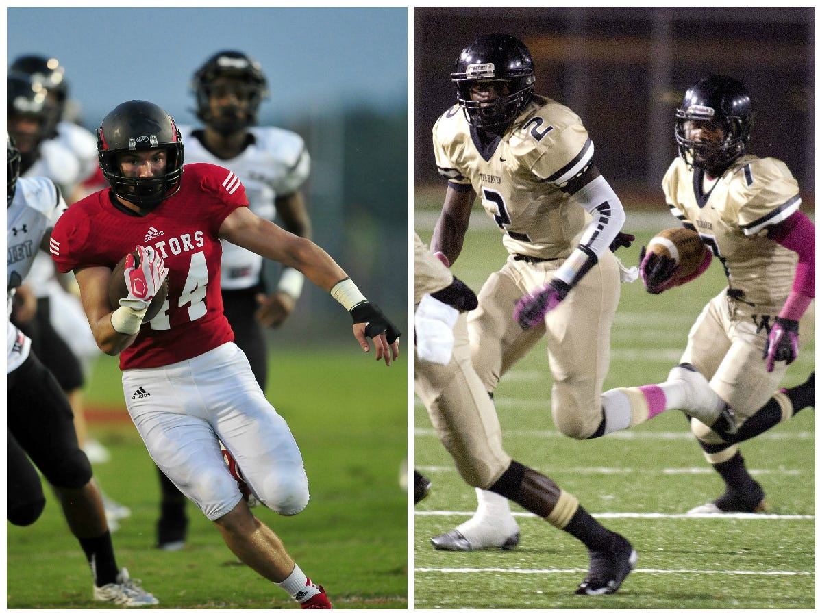 Connor Jeffries and the Raptors (left) defeated Whitehaven in last week's Class 6A semifinals.