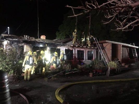 Somis House Fire