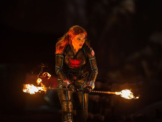 Caitlin Hutson as Black Widow