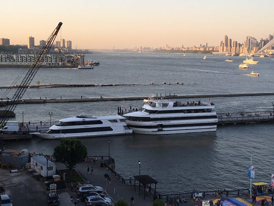 A boat hosting the Weehawken High School prom was involved