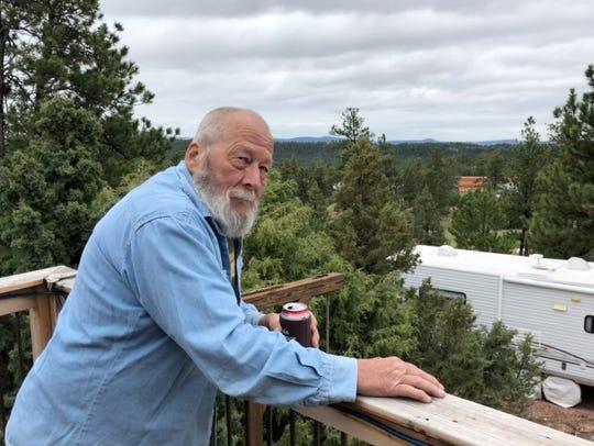 Retiree Karl Van Rump lives next to the secretive FLDS