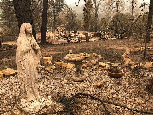 USP NEWS: CARR FIRE USA CA