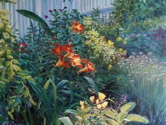 """James Ramsdell's """"Day Lilies"""""""