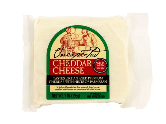 Unexpected Cheddar is a customer favorite at Trader