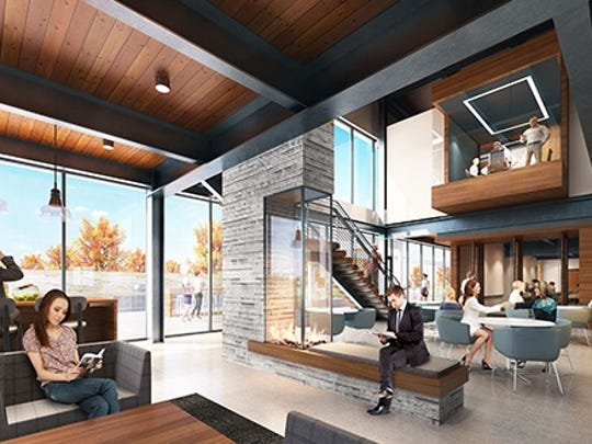 The new C.D. Smith headquarters will feature a cafe.