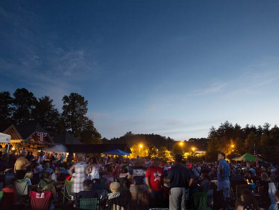 The Village Green in Sylva will host a total eclipse