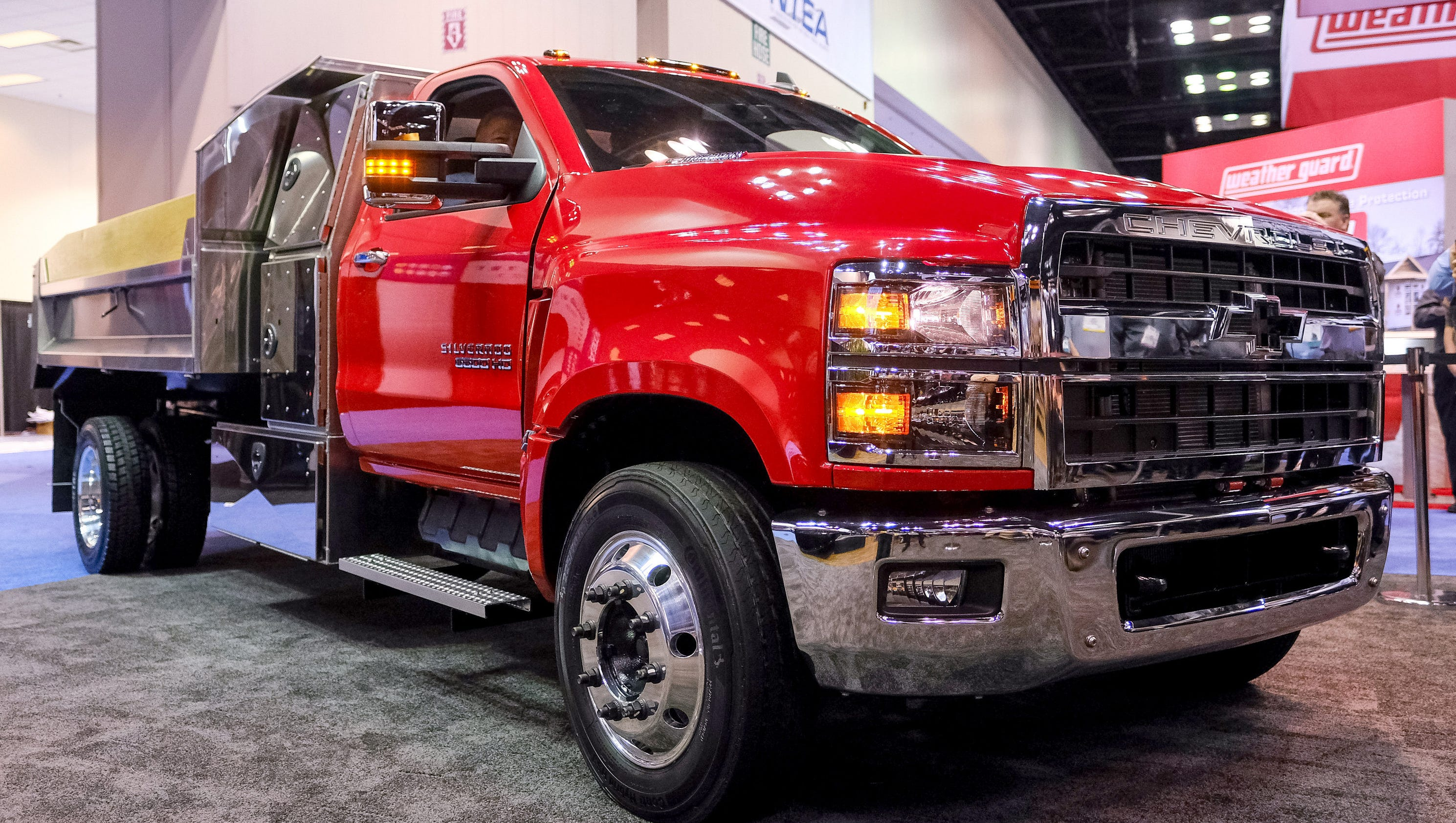 Biggest Chevy Silverado ever debuts at work truck show
