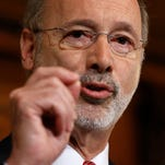 Gov. Tom Wolf announced Wednesday the Pennsylvania state budget will pass into law effective Sunday.