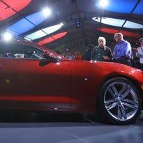 Chevrolet unveils new, smaller Camaro